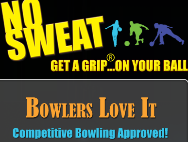 No Sweat Lotion for Bowlers